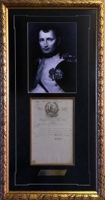Автограф Наполеон Бонапарт