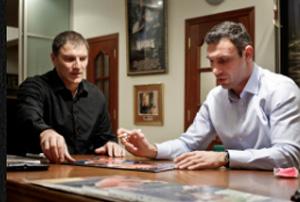 Автограф сессия с  легендой мирового бокса Виталием Кличко